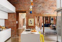 idéias sala loft