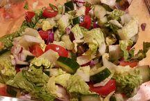 Saláta fitten