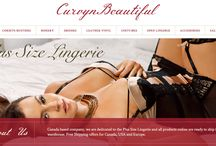 New Design / New Web Site design for www.curvynbeautiful.com