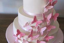 Kelebekli D G pastaları
