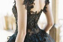 Robe Mariée Noire