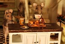 Muizen en hun huizen