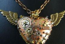 Steampunk inspiration / Love the steampunk look. Here are pieces to inspire creativity.