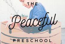 The Peaceful Preschool / A board dedicated to our experience with The Peaceful Preschool!