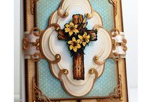 Religious Cards / Crosses, 1st Communions, Baptism cards and anything that fits the name of the board.