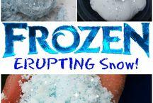 Pre school activities / Snow experiment