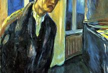 Autoritratti Munch
