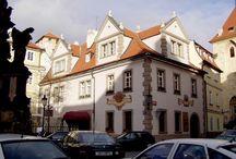 Dům U Malířů v Praze podle malíře Jana Širce.