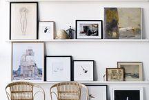 Duvar Dekorasyonu / Duvar dekorasyonu için ilhama mı ihtiyacınız var? Galeri duvarı, tablo seçimi ve kendin yap projeleri.