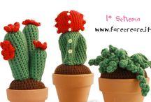 piante uncinetto