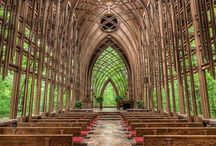 Amazing Grace - Churches Worth Worshipping / Awe-inspiring and downright stylish churches.