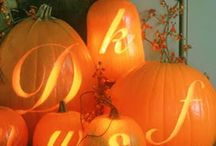 Fall Inspiration / Ideas for fall decorating for the house/porch/door