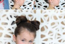 Little girl hair do's / by Shanda Beitz