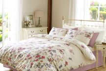 Janet Reger / This Bed Linen Collection by Janet Reger combines beautiful modern designs with an eclectic decorative style.