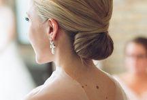 Annas wedding - hair buns / Wedding buns