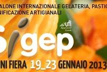 Sigep 2013 / Sigep Rimini 2013 - 34° Salone Internazionale della gelateria, pasticceria e panificazione artigianali. 19-23 Gennaio 2013 www.isaitaly.com