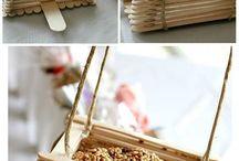 Dondurma çubukları sanatı