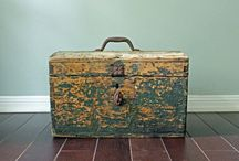 Vintage - Boxes, Cases, Cake & Candy Molds, etc. / by Coletta Musick