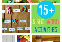 MAP - English - Sight words activities