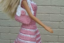 Barbie / Crochet and knitting ideas for my nieces