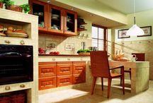 Kuchyně a dům