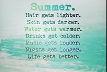 Summer words