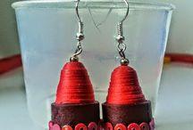 Crafts / #Quilling #PaperJewellery  #Jewellery #Earrings #DIY