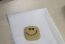 smiley faces  :)
