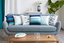 Home Spirit / Créer une décoration apaisante et épurée avec des éléments simples