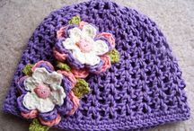 Crochet hats / Cute crochet hats and bonnets from baby sized through adult sizes.