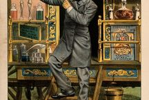 travelling medicine salesman