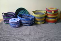 Dywan ze sznurka kup na pl.dawanda.com/shop/Etno-ba-ba / #dywan #dywanzesznurka #handmade #crochet #rug #carpet
