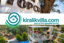 Kalkan Bölgesi Villa Tatili