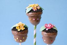 Cake pops galore / by Debra Perez
