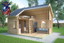Log Cabins Micro Houses / If you are looking for a quality insulated log cabin, that can be either manufactured in solid log or glulam logs, then please give us a call, or send us an email to enquiries@logcabins.lv www.logcabins.lv do not settle for less!