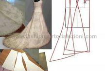 patrones vestidos de novia