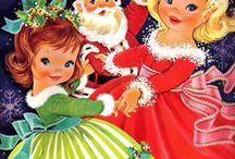 Paper Dolls - Feliz Natal