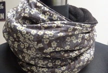 шарфы, косынки, снуды