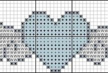 Cross stitch needlepoint