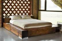 bed base wooden