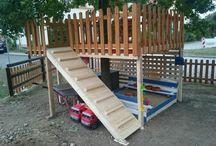DIY Baumhaus - Baumterrasse / Baumhaus ohne Dach, daher eher eine Baumterrasse. Aufbau ohne Schrauben etc. im Baum, d.h. ohne Verletzungen an diesem.