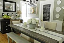 Dining room ideas / by Natsuko Kure