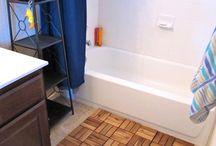 Repurposing tile!
