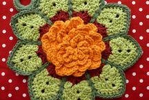 Loving Crochet Motifs, Flowers, etc / by Valerie Webb