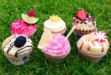 Summer 2013 / Can you think of a more perfect way to spend a summer night than with a Cuckoo's cupcake?