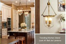 Kitchen Island Pendant Lighting Ideas / Super trendy and stylish pendant lights styles for inspiration to design one of the most Trending Kitchen Islands from Pinterest