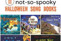 Preschool October Poems/ Songs & Activities