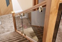 Stairway decoration, lighting & carpeting ideas