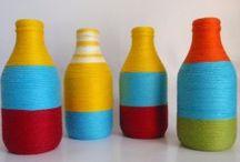 bottle upcycling