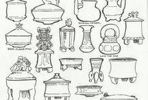 vasijas y .... ceramica